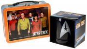 Star Trek 20 oz. Ceramic Stein and Large Tin Tote Set