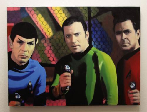 Star Trek 47.5 x 63.5 Giclee by Steve Kaufman
