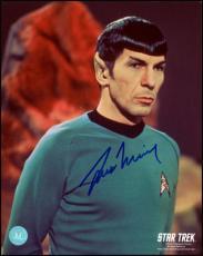 Star Trek 8x10 Alien World Photo Autographed by Spock Actor Leonard Nimoy