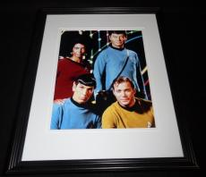 Star Trek Cast Framed 8x10 Photo Poster Leonard Nimoy William Shatner