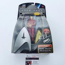 "Star Trek Karl Urban Signed Playmates Figure JSA COA inscribed ""bones"