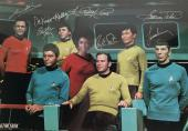 Star Trek Signed Autographed 13x20 Photograph Shatner Nimoy Takei JSA