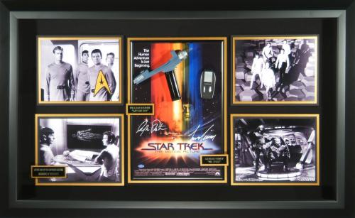 Star Trek - The Motion Picture Autographed Movie Display