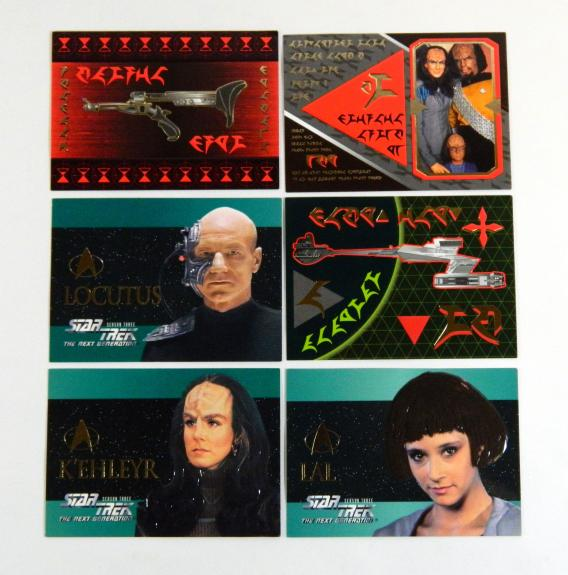 Star Trek The Next Generation Episode Collection Klingon Embossed Season 3 Set