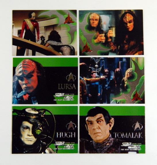 Star Trek The Next Generation Episode Collection Klingon Embossed Season 7 Set