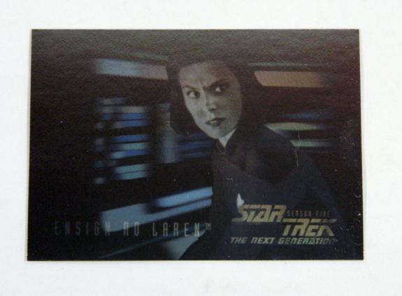Star Trek The Next Generation TNG Episode Collection Holograms Ro Laren #H10