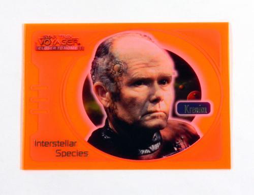 Star Trek Voyager Closer to Home Interstellar Special Glow Orange Krenim IS2