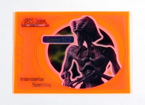 Star Trek Voyager Closer to Home Interstellar Special Glow Orange Spec 8472 IS3