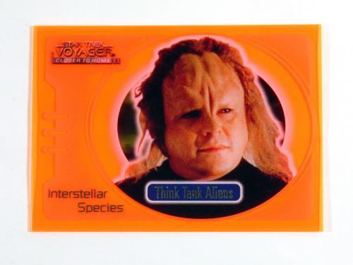 Star Trek Voyager Closer to Home Interstellar Special Glow Orange Think Tank IS7