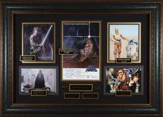Star Wars 30th Anniversary Cast Autographed Home Theater Dis