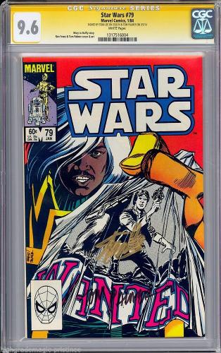 Star Wars #79 Cgc 9.6 White Pages Ss Stan Lee Cgc #1317516004
