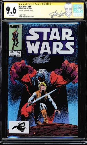 Star Wars #89 Cgc 9.6 White Pages Ss Stan Lee Signed New Label Cgc #1227814019