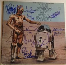 STAR WARS CAST W/ George Lucas Harrison Ford SIGNED ALBUM PSA DNA