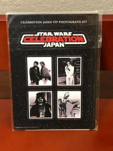 Star Wars Celebration Japan VIP Photograph Set Princess Leia C3PO RD2D Luke RARE