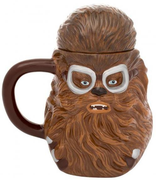 Star Wars Chewbacca 20oz. Sculpted Mug