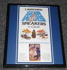 Star Wars Clarks Sneakers Framed Advertisement Photo Official Reproduction