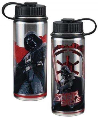 Star Wars Dark Side 18 oz. Stainless Steel Water Bottle