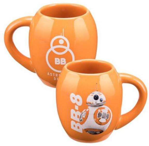 Star Wars EP7 BB-8 18 oz. Oval Ceramic Mug