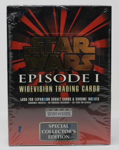 Star Wars Episode I Widevision Trading Cards Topps Special Collectors Edition