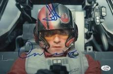 STAR WARS EPISODE VI - THE FORCE AWAKENS signed OSCAR ISAACS & JJ ABRAMS authent