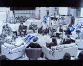 Star Wars Force Awakens Cast Signed 16X20 Photo Ford Fisher Boyega +8 JSA Z58793