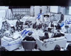 Star Wars Force Awakens Cast Signed 16X20 Photo Ford Fisher Boyega +8 JSA Z58793