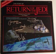 STAR WARS George Lucas Harrison Ford CAST SIGNED ROTJ Jedi ALBUM PSA DNA