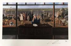 Star Wars George Lucas Signed Autographed 24x36 Characters Poster Beckett BAS