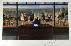 Star Wars George Lucas Signed Autographed 24x36 Photo Lithograph PSA/DNA