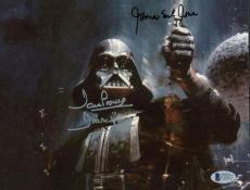 Star Wars James Earl Jones David Prowse Signed Autographed 8x10 Photo Beckett