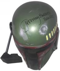 Star Wars Jeremy Bulloch Signed Autographed Don Post Boba Fett Helmet Beckett