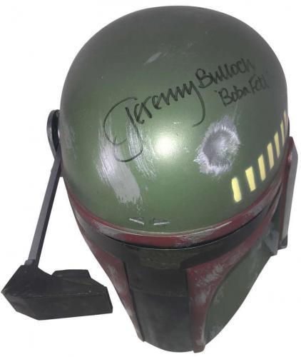 Star Wars Jeremy Bulloch Signed Autographed Don Post Boba Fett Helmet Beckett