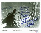 Star Wars (Mark Hamill, Jones & Prowse) Signed 8x10 Promo Photo PSA/DNA #AD03142