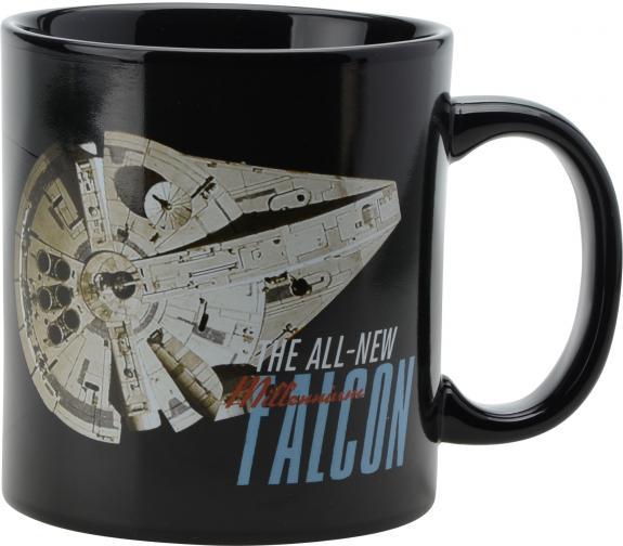 Star Wars Millennium Falcon Heat Reactive 20oz. Ceramic Mug