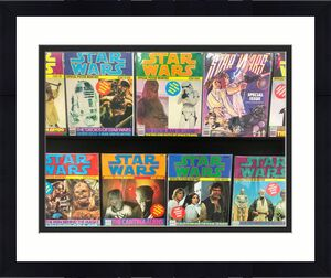 Star Wars Official Poster Magazine 9 Issues  6,7,8,9,10,11,12,13,17