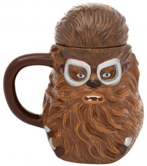 Star Wars Solo Sculpted Ceramic Mug with Lid