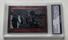 Star Wars The Empire Strikes Back Boba Fett Jeremy Bulloch Signed Auto PSA/DNA