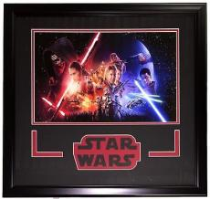 Star Wars: The Force Awakens Framed Photo 23x23 Black