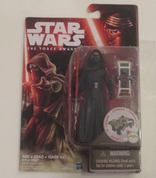 Star Wars The Force Awakens Kylo Ren Figure 3 3/4 Brand New