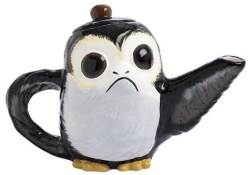 Star Wars the Last Jedi Porg 32 oz. Sculpted Ceramic Teapot