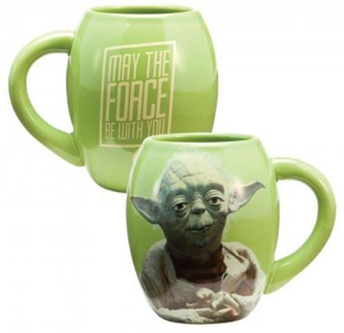 Star Wars Yoda 18 oz. Ceramic Mug