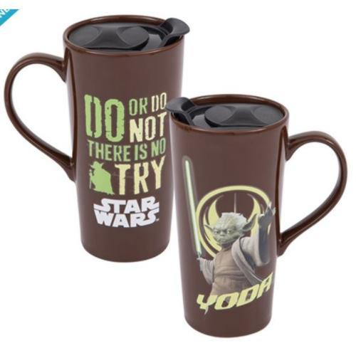 Star Wars Yoda 20 oz. Heat Reactive Ceramic Travel Mug