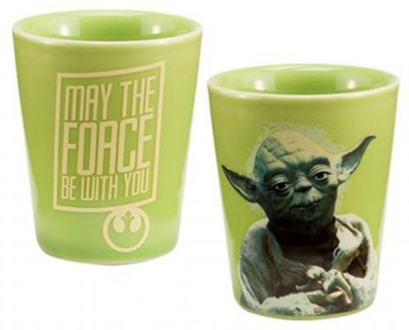 Star Wars Yoda Ceramic Shot Glass