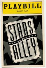 Stars In The Alley Jane Alexander Carol Channing Tony Roberts 10th Ann Playbill