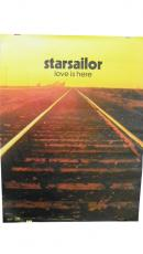 Starsailor Autographed Signed Love Is Here Poster UACC RD COA