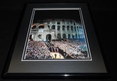 Stations of the Cross at Colosseum Pope John Paul II Framed 11x14 Photo Display