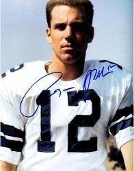Roger Staubach Dallas Cowboys Fanatics Authentic Autographed 11'' x 14'' No Helmet Color Photograph
