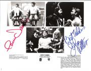 "STAY TUNES"" Signed by JOHN RITTER as ROY KNABLE and PAM DAWBER as HELEN KNABLE 10x8 B/W Photo"