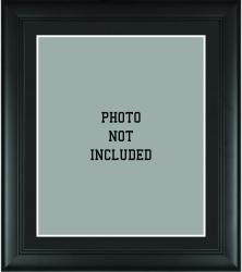 "Standard 20"" x 24"" Black Photo Frame with Matting"