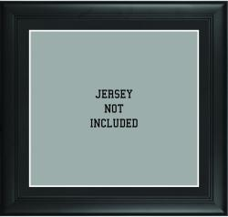 Standard Black Jersey Frame with Matting - Mounted Memories
